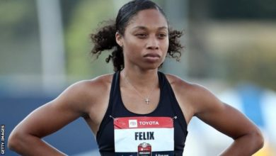 Photo of Allyson Felix : Nike changes policy for pregnant athletes