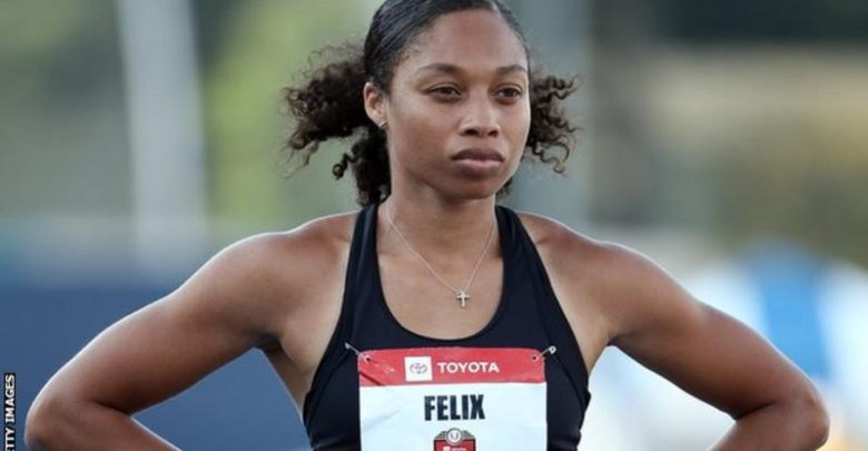 Allyson Felix: Nike changes policy for pregnant athletes