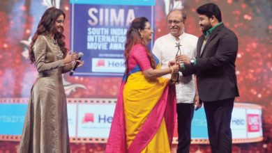 Photo of Malayalam, Tamil film industry legends wow audience at South Indian movie awards show