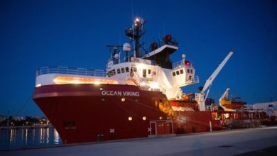 Photo of Ocean Viking migrant rescue ship 'not allowed' to refuel in Malta