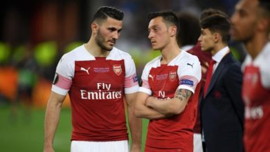 Photo of Ozil, Kolasinac miss Arsenal opener due to 'security incidents'