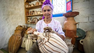 Social media rescue Morocco's last woman potters