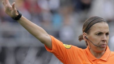 Photo of Stephanie Frappart first woman to officiate UEFA Super Cup