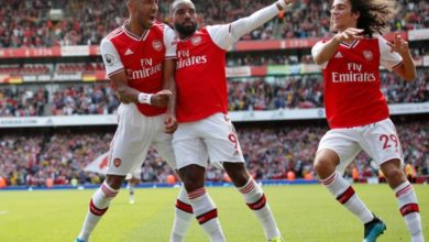 Photo of Two out of two for Arsenal as Aubameyang sinks stubborn Burnley