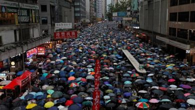 Photo of Tens of thousands march in latest Hong Kong protest
