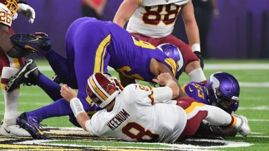 Photo of Three takeaways from the Redskins' 19-9 loss to the Vikings
