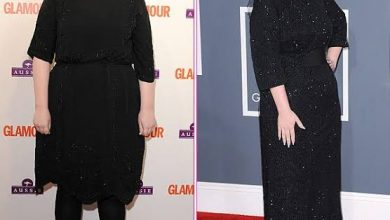 Photo of Adele shows off her incredible weight loss as she parties with Drake